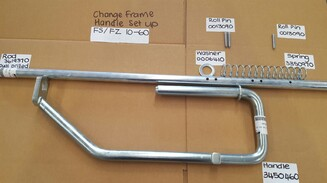 "STOLL Change Frame Handle  - ""FS/FZ"" 10 - 60 (NARROW)"
